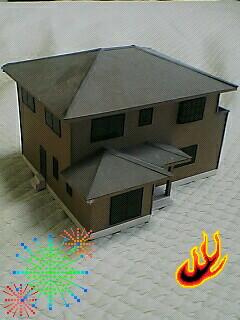 建築模型にハマった〜♪