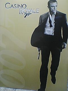 《007カジノ・ロワイヤル》速攻で見に行って来たよ〜(^O^)