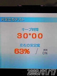 片足立テストはまずまずだったよ(^O^)/