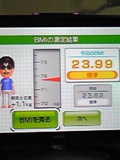 体重もだ〜(ノ_・。)