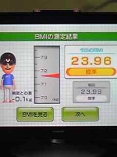 マイナス0.1キロかo(≧∀≦)o
