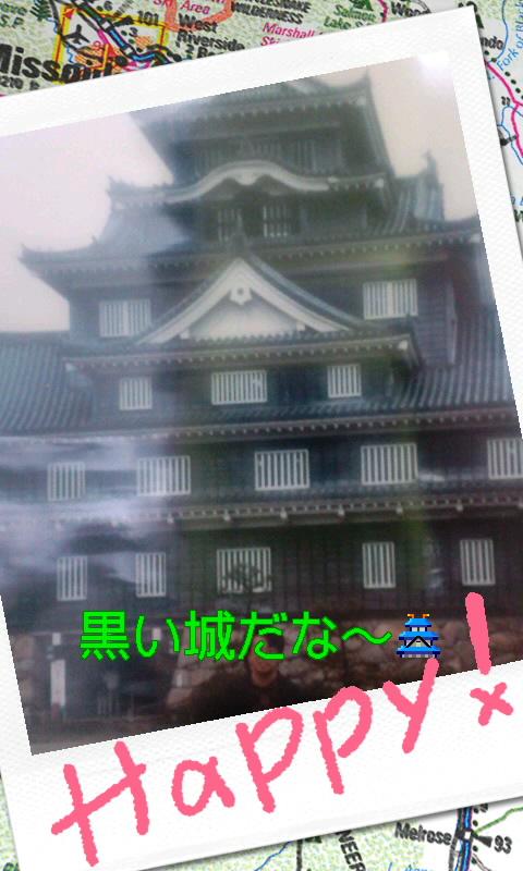 岡山城だ〜!(b^ー°)