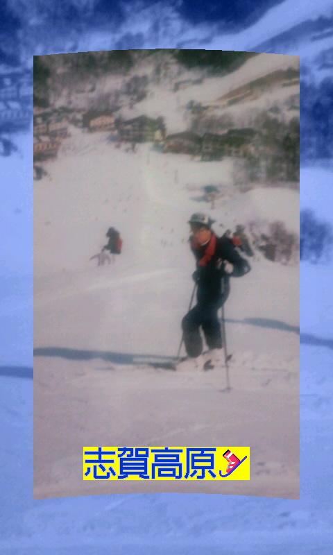 志賀高原はいいスキー場だったよ〜!(b^ー°)