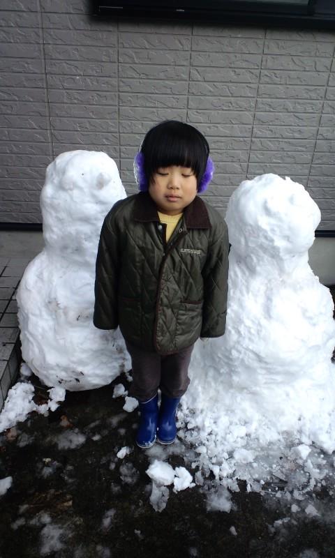 雪だるま〜(^з^)-☆Chu!!