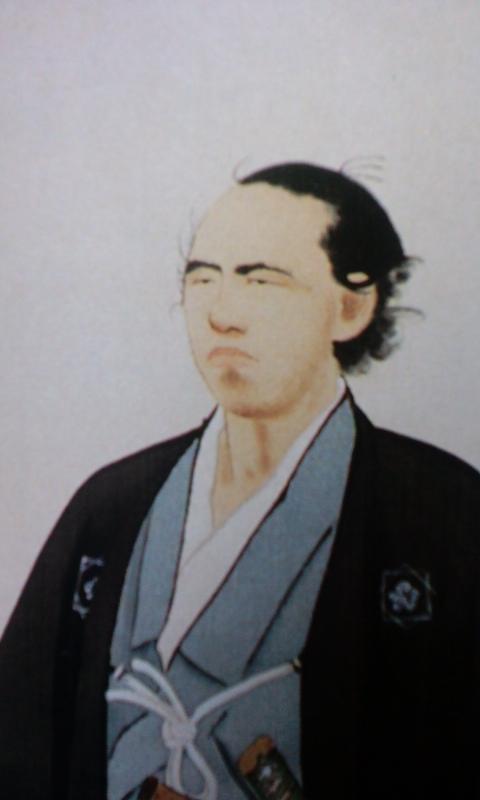 竜馬肖像画1〜(=゜-゜)(=。_。)