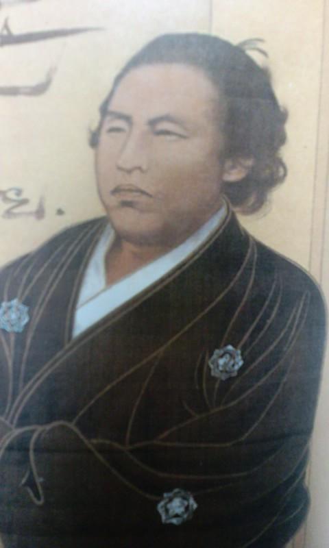 竜馬肖像画2V(^-^)V