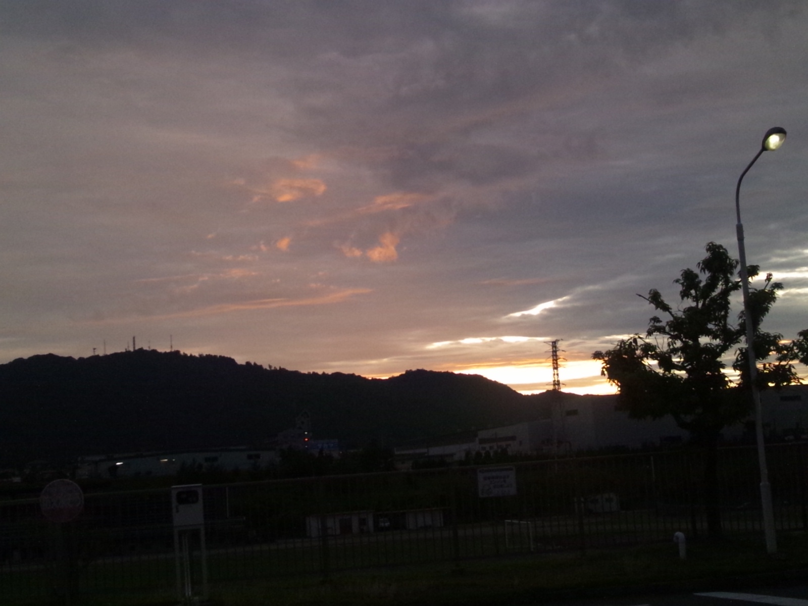 スゲエ雲だ〜(*≧∀≦*)