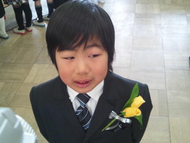 22日は次男坊の卒園式でしたわ(~▽~@)♪♪♪