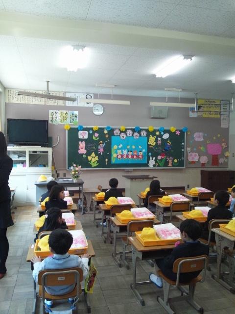 昨日は次男坊の入学式でしたよ〜(@^▽゜@)ゞ